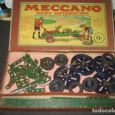 Juegos construcción - Meccano - CAJA MECCANO CON PIEZAS. NUMERO 0A - 110064547