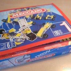 Juegos construcción - Meccano: MECCANO INCOMPLETO. Lote 110259843