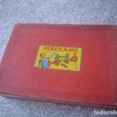 raro y precioso conjunto MECCANO numeros 0 - 6 con sus 2 manuales originales
