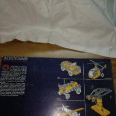 Juegos construcción - Meccano: MECCANO 2 EXIN INCOMPLETO. Lote 114077023
