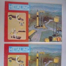 Juegos construcción - Meccano: MANUAL DE CONSTRUCCION MECCANO METALING MOTOR Y CAJA 1. Lote 114775188