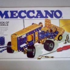 Juegos construcción - Meccano: MANUAL DE INSTRUCCIONES MECCANO NÚMERO 4. Lote 117276218