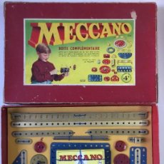 Juegos construcción - Meccano: MECCANO CAJA COMPLEMENTARIA Nº 4. Lote 118305991