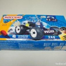 Juegos construcción - Meccano: S9 - MECCANO POLICE AÑO 1999 REF 713100 FRANCE. Lote 118992079
