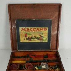 Juegos construcción - Meccano: MECCANO. CAJA CON INFINIDAD DE PIEZAS. CAJA EQUIPO SUPLEMENTARIO 3A. CIRCA 1960. . Lote 119062735