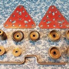 Juegos construcción - Meccano: LOTE DE PIEZAS MECCANO AÑOS 40. Lote 119528847