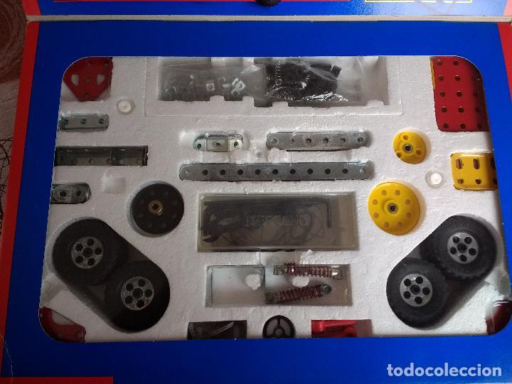 Juegos construcción - Meccano: MECCANO EVOLUTION 2 AÑO 1995 DESCATALOGADO HASTA 25 CONSTRUCCIONES - Foto 3 - 121576631