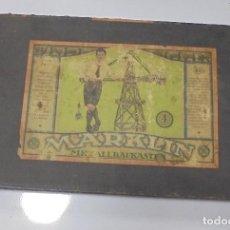 Juegos construcción - Meccano: MARKLIN. MECCANO. METALLBAUKASTE. JUEGO ALEMAN PARA MONTAR. EL DE LA CAJA. VER FOTOS . Lote 122070283