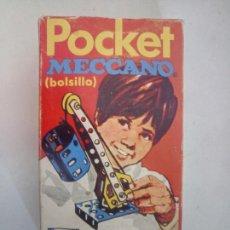 Juegos construcción - Meccano: CAJA POCKET MECCANO BOLSILLO 25 MODELOS MINIMO. Lote 122254948