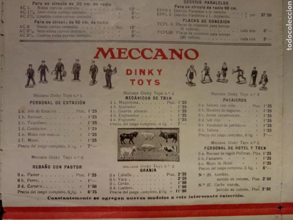 Juegos construcción - Meccano: Catalogo Meccano años 30 dinky toys - Foto 2 - 122492496