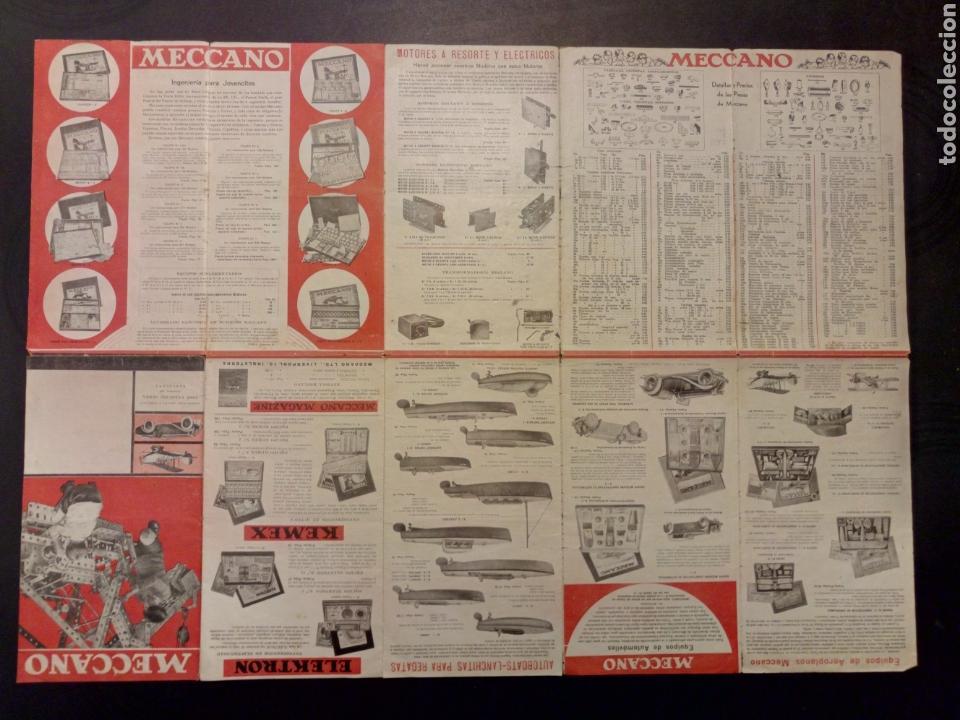 Juegos construcción - Meccano: Catalogo Meccano años 30 dinky toys - Foto 4 - 122492496