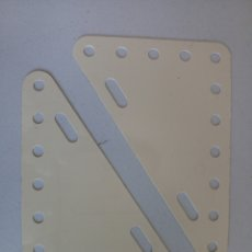 Juegos construcción - Meccano: PLACAS FLEXIBLES TRIANGULARES MECCANO. Lote 122743504