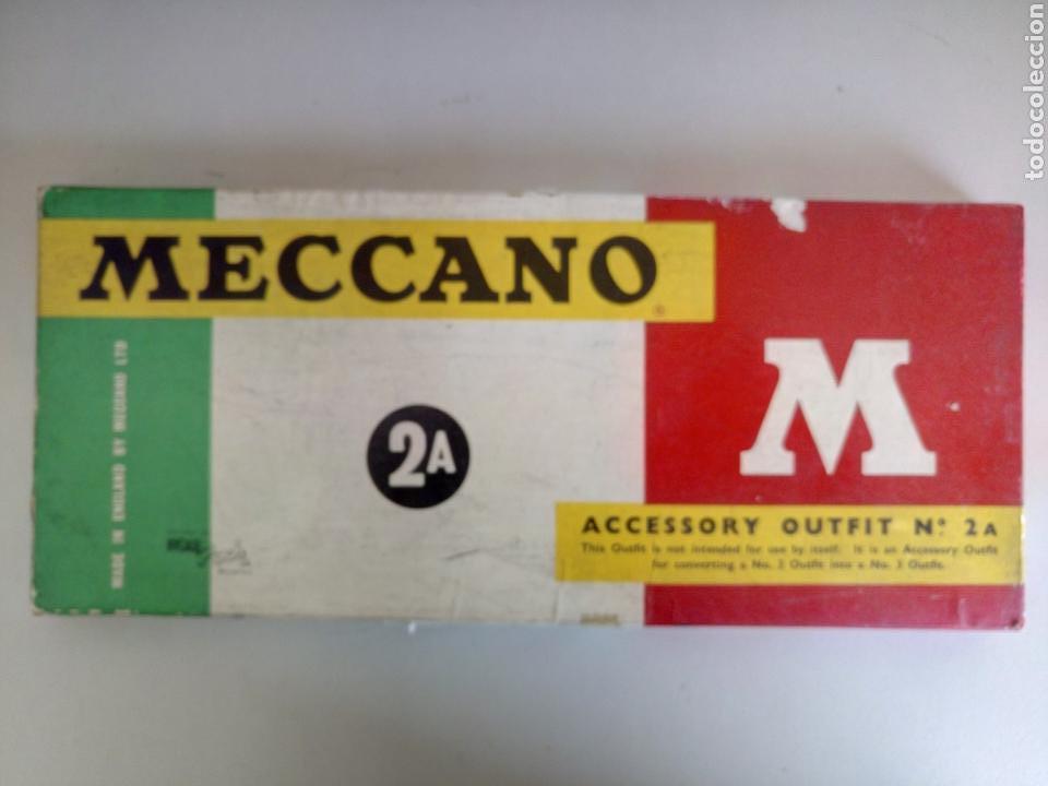 CAJA 2A MECCANO AÑOS 60 COMPLETA (Juguetes - Construcción - Meccano)