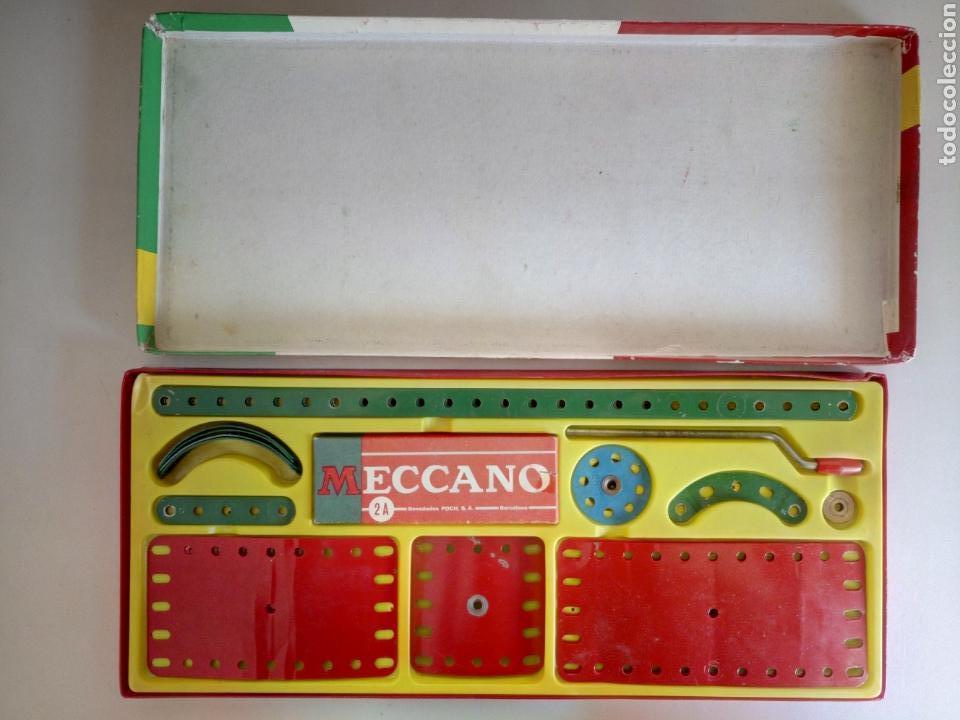 Juegos construcción - Meccano: Caja 2a Meccano años 60 completa - Foto 2 - 124023668