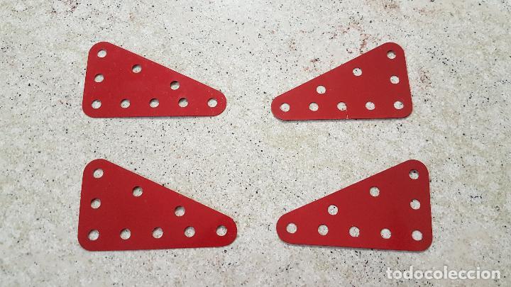 4 PIEZAS MECCANO NUM 221 MADE ENGLAND NUEVA (Juguetes - Construcción - Meccano)