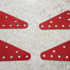 Jeux construction - Meccano: 4 PIEZAS MECCANO NUM 221 MADE ENGLAND NUEVA . Lote 150546421