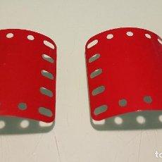 Juegos construcción - Meccano: 2 PLACAS MECCANO MADE ENGLAND. Lote 147662616