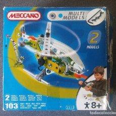 Juegos construcción - Meccano: MECCANO MULTIMODELS Nº2 . Lote 124680323