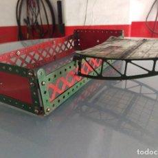 Juegos construcción - Meccano: ANTIGUAS CONSTRUCCIONES MECCANO. Lote 125923003