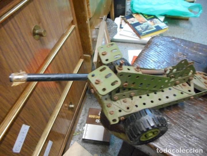 Juegos construcción - Meccano: cmion con ametralladora meccano - Foto 2 - 126128991