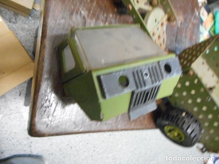 Juegos construcción - Meccano: cmion con ametralladora meccano - Foto 3 - 126128991