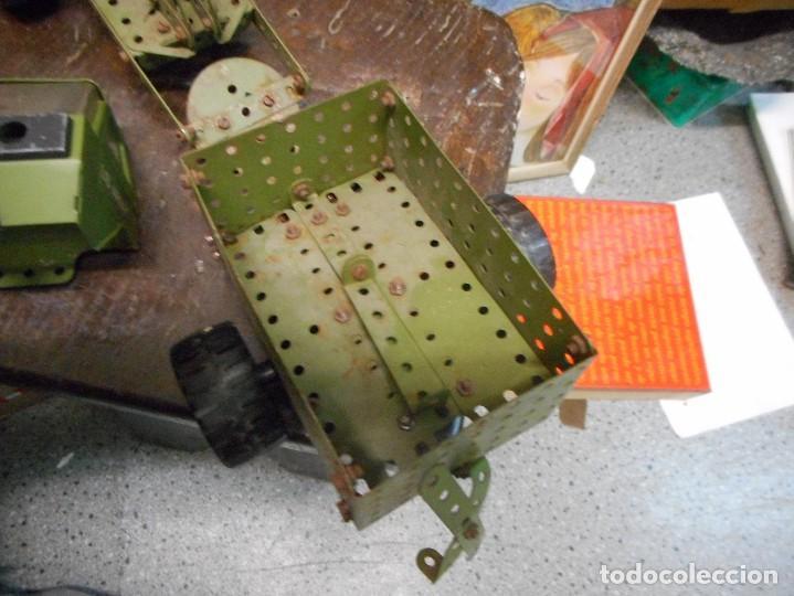 Juegos construcción - Meccano: cmion con ametralladora meccano - Foto 4 - 126128991