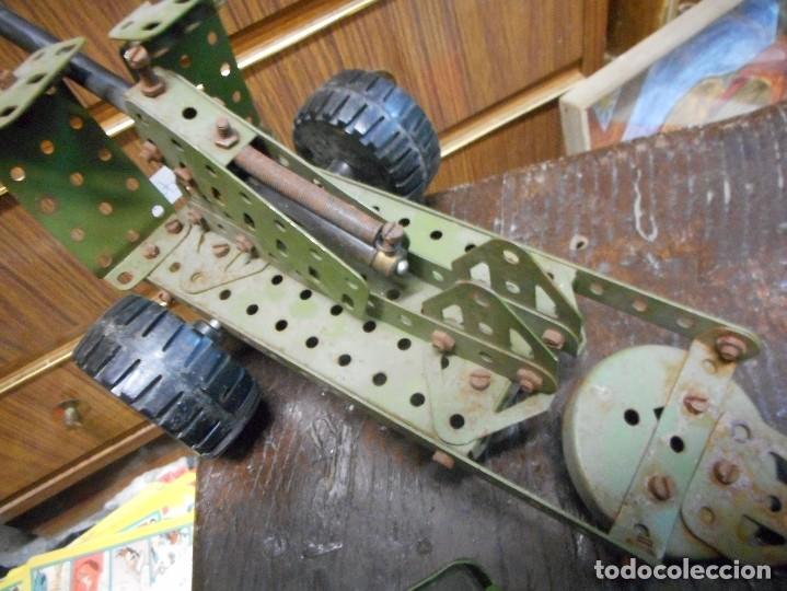 Juegos construcción - Meccano: cmion con ametralladora meccano - Foto 5 - 126128991