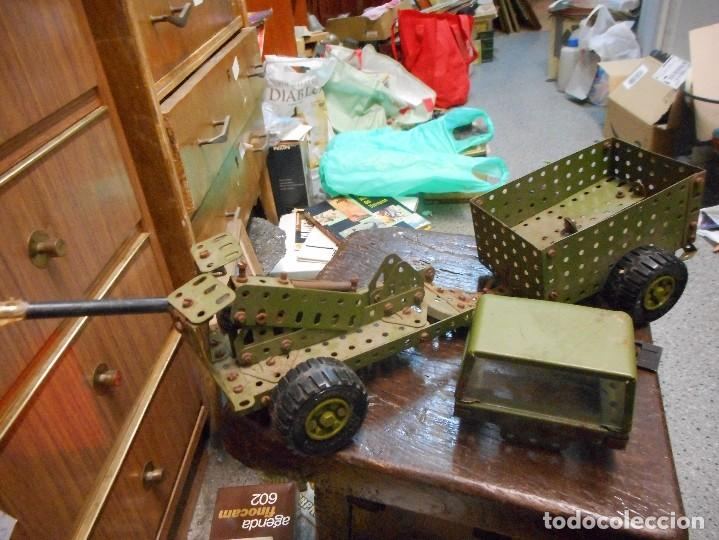 Juegos construcción - Meccano: cmion con ametralladora meccano - Foto 6 - 126128991