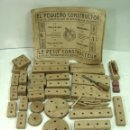 Juegos construcción - Meccano: ANTIGUO JUEGO CONSTRUCCION - EL PEQUEÑO CONSTRUCTOR N.3 - CATALOGO + PIEZAS - LE PETIT CONSTRUCTUER . Lote 127813355