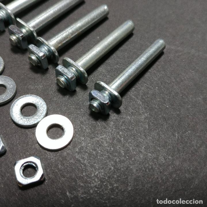 Juegos construcción - Meccano: Meccano parte nº 115a. Lote de 10 pins largos originales Francia. - Foto 4 - 147937290