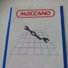 Juegos construcción - Meccano: MANUAL DE INSTRUCCIONES MECCANO Nº 6.. Lote 131017636