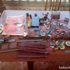 Juegos construcción - Meccano: GRAN LOTE DE PIEZAS MECANNO . Lote 132066286