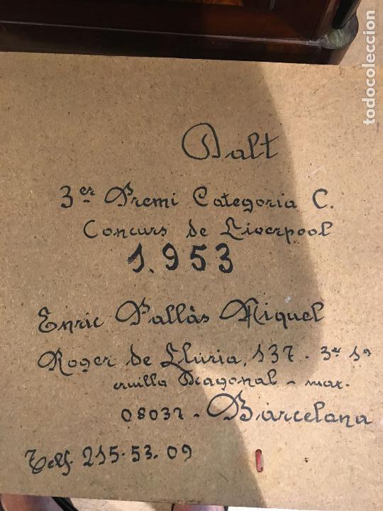 Juegos construcción - Meccano: Lote meccano premio de Liverpool 1953, maquina rallar papel + 7 diplomas + documentos... - Foto 4 - 132421206