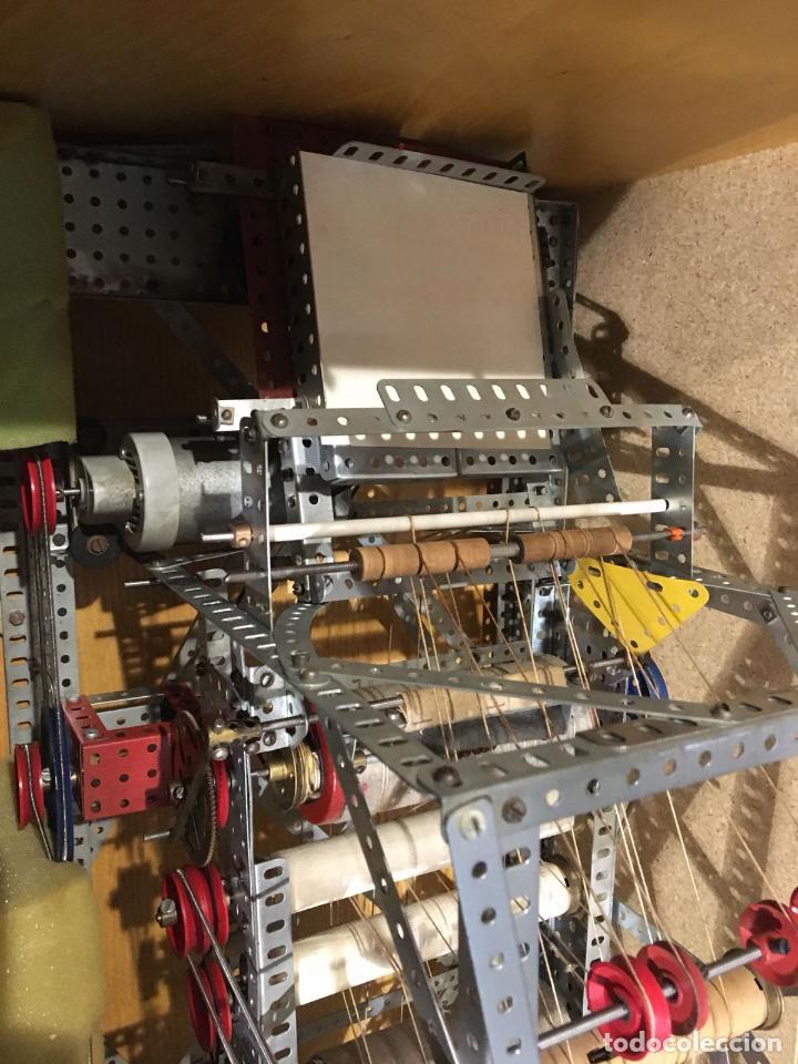 Juegos construcción - Meccano: Lote meccano premio de Liverpool 1953, maquina rallar papel + 7 diplomas + documentos... - Foto 8 - 132421206