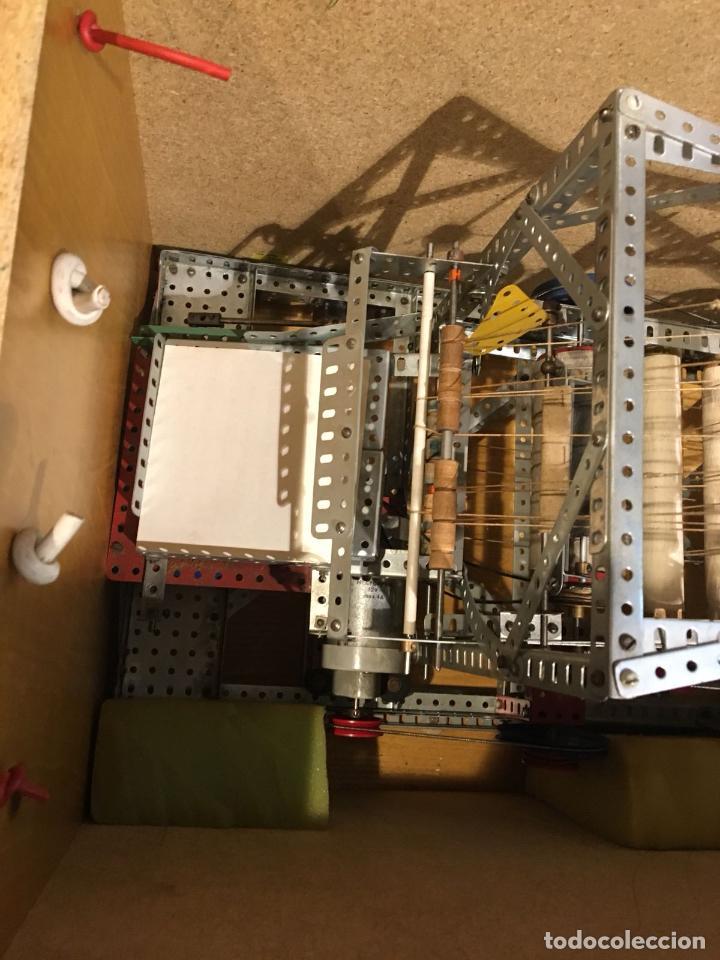 Juegos construcción - Meccano: Lote meccano premio de Liverpool 1953, maquina rallar papel + 7 diplomas + documentos... - Foto 9 - 132421206
