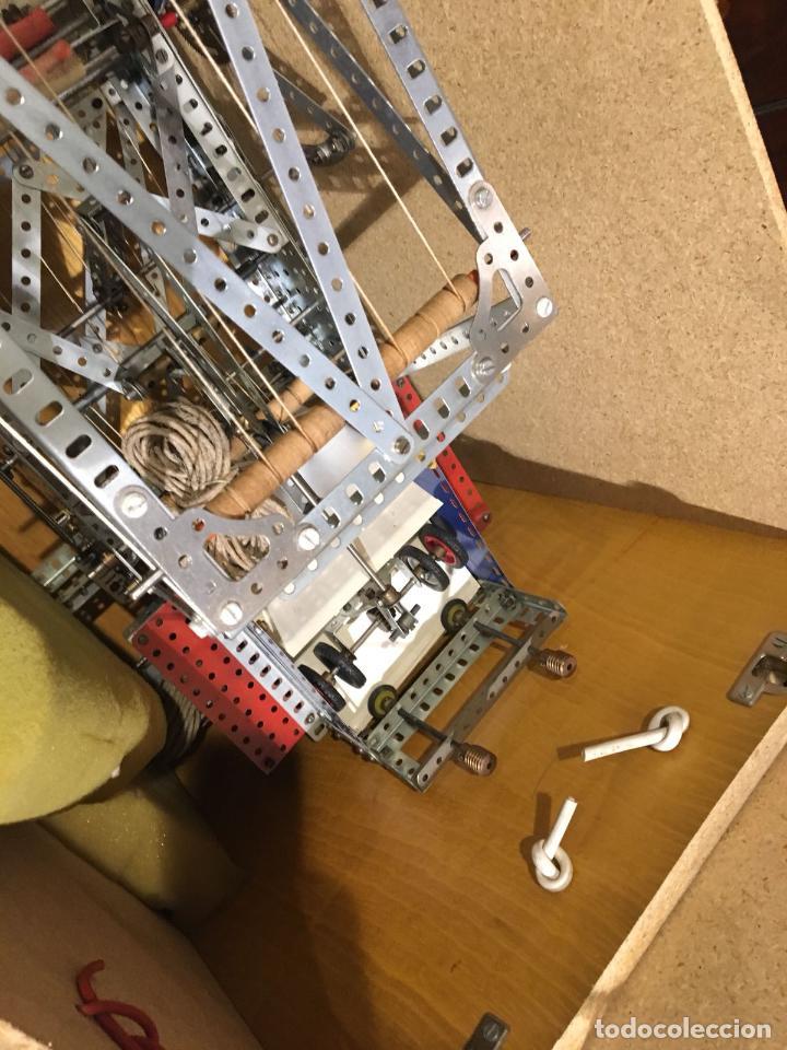 Juegos construcción - Meccano: Lote meccano premio de Liverpool 1953, maquina rallar papel + 7 diplomas + documentos... - Foto 11 - 132421206