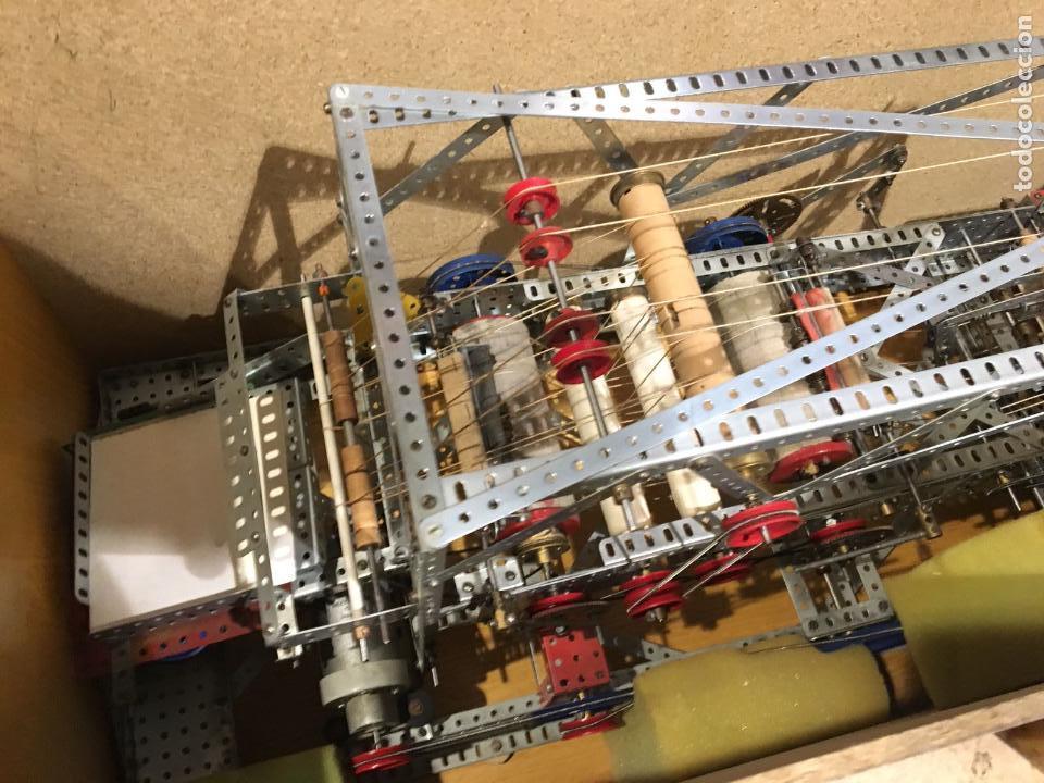 Juegos construcción - Meccano: Lote meccano premio de Liverpool 1953, maquina rallar papel + 7 diplomas + documentos... - Foto 14 - 132421206