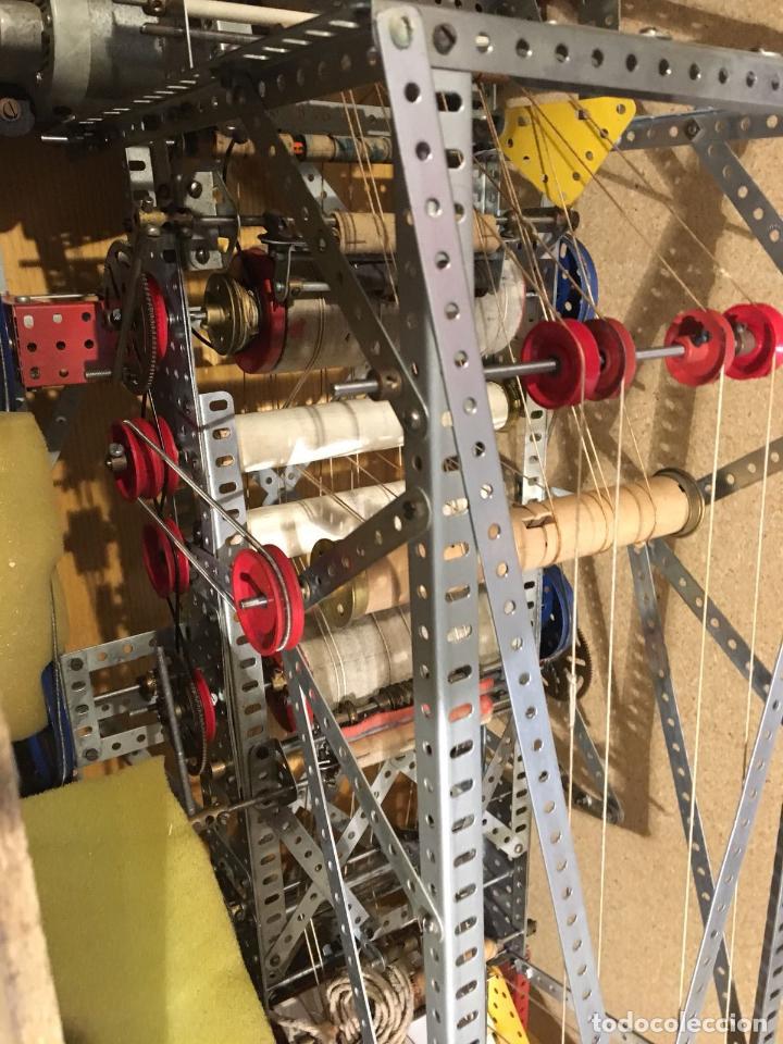 Juegos construcción - Meccano: Lote meccano premio de Liverpool 1953, maquina rallar papel + 7 diplomas + documentos... - Foto 16 - 132421206