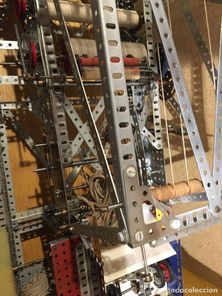 Juegos construcción - Meccano: Lote meccano premio de Liverpool 1953, maquina rallar papel + 7 diplomas + documentos... - Foto 19 - 132421206