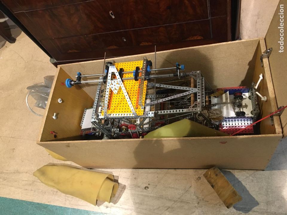 Juegos construcción - Meccano: Lote meccano premio de Liverpool 1953, maquina rallar papel + 7 diplomas + documentos... - Foto 23 - 132421206