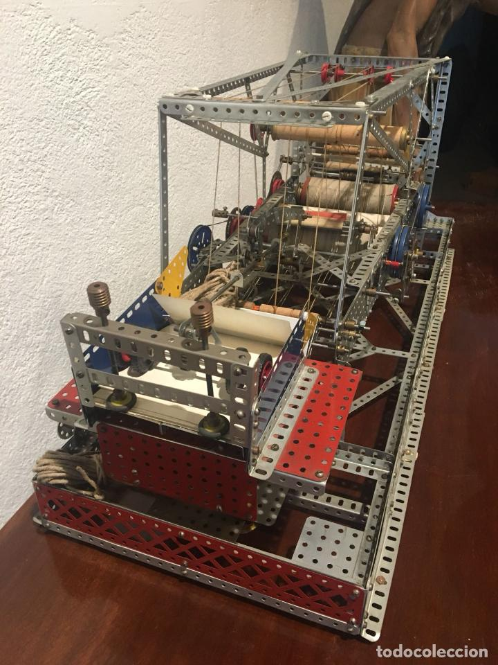 Juegos construcción - Meccano: Lote meccano premio de Liverpool 1953, maquina rallar papel + 7 diplomas + documentos... - Foto 25 - 132421206