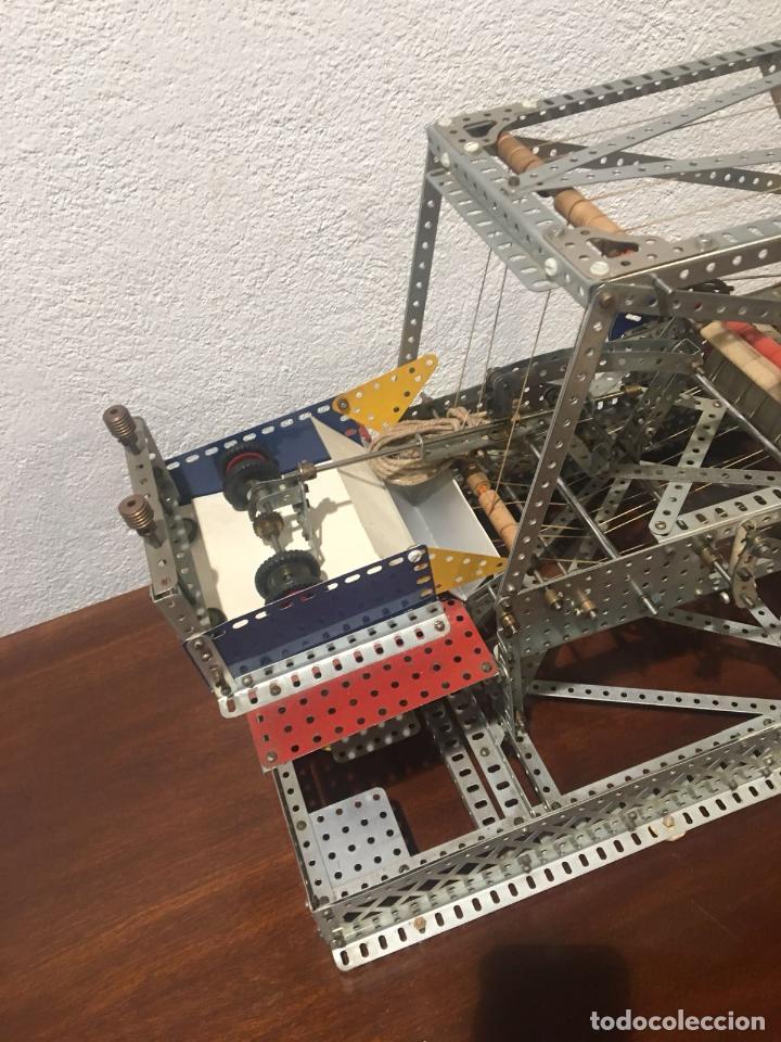Juegos construcción - Meccano: Lote meccano premio de Liverpool 1953, maquina rallar papel + 7 diplomas + documentos... - Foto 28 - 132421206