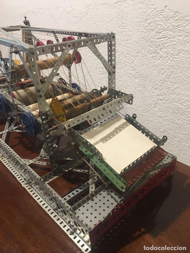 Juegos construcción - Meccano: Lote meccano premio de Liverpool 1953, maquina rallar papel + 7 diplomas + documentos... - Foto 29 - 132421206