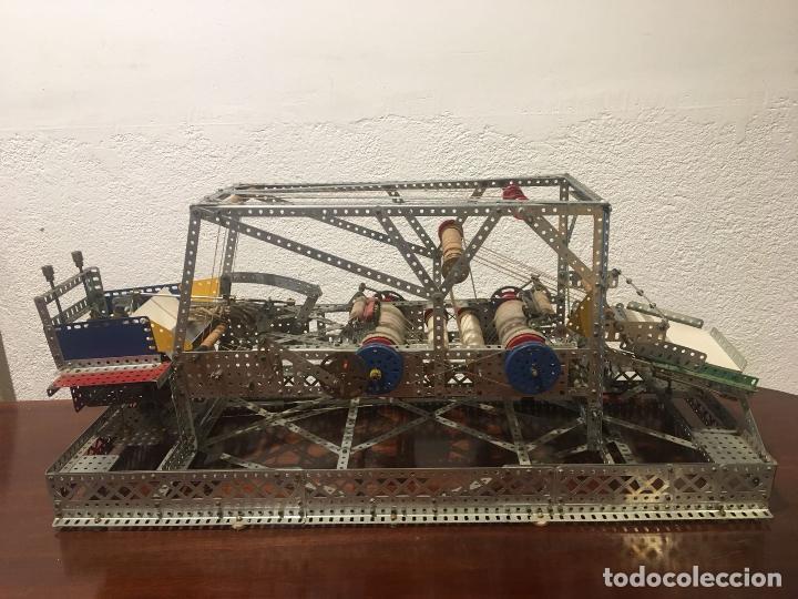 Juegos construcción - Meccano: Lote meccano premio de Liverpool 1953, maquina rallar papel + 7 diplomas + documentos... - Foto 30 - 132421206