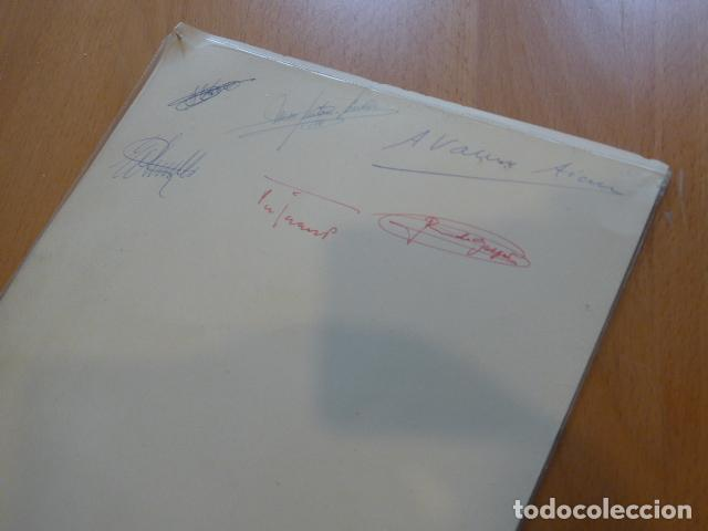 Juegos construcción - Meccano: Lote meccano premio de Liverpool 1953, maquina rallar papel + 7 diplomas + documentos... - Foto 37 - 132421206