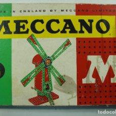 Juegos construcción - Meccano: MECCANO Nº 3 - FABRICADO EN ESPAÑA POR POCH EN LOS 60S - USADO PERO COMPLETO + EXTRAS. Lote 133141234