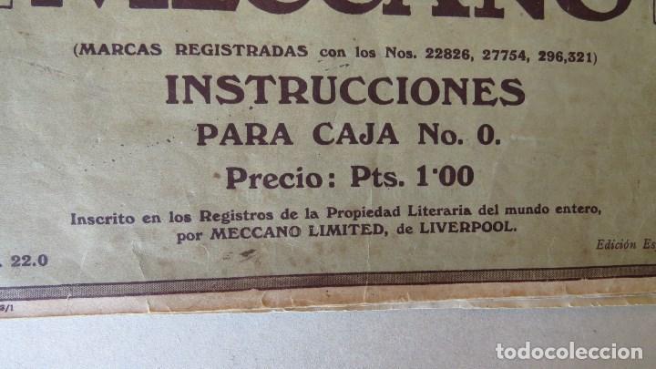 Juegos construcción - Meccano: ANTIGUO MECCANO 1 - FABRICADO INGLATERRA - AÑOS 20 - Foto 16 - 133802838