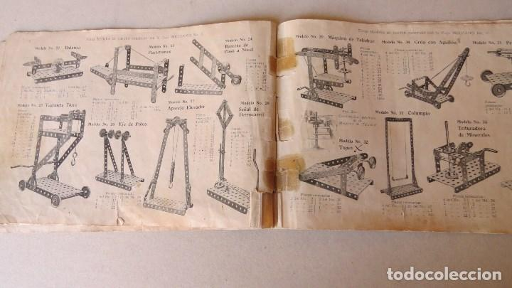 Juegos construcción - Meccano: ANTIGUO MECCANO 1 - FABRICADO INGLATERRA - AÑOS 20 - Foto 18 - 133802838