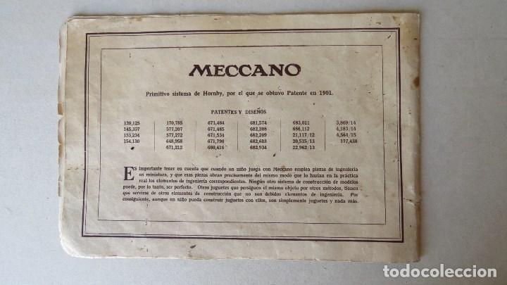 Juegos construcción - Meccano: ANTIGUO MECCANO 1 - FABRICADO INGLATERRA - AÑOS 20 - Foto 19 - 133802838