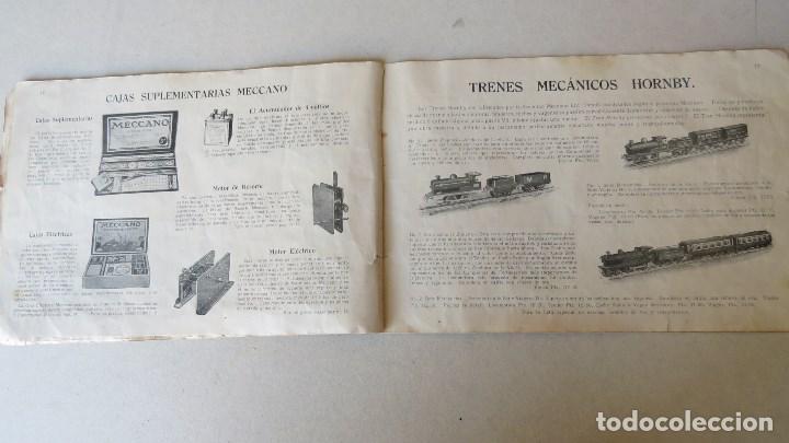 Juegos construcción - Meccano: ANTIGUO MECCANO 1 - FABRICADO INGLATERRA - AÑOS 20 - Foto 20 - 133802838